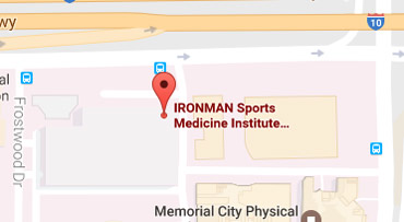 driving directions of Ironman Sports Medicine Institute Gessner Road
